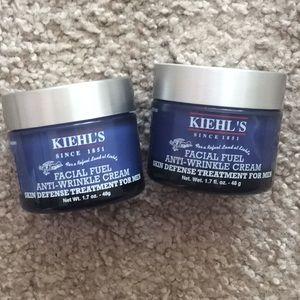 Kiehl's Makeup - Kiehl's facial fuel anti wrinkle cream two jars